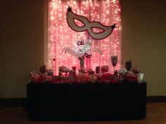 masquerade candy table - Google Search