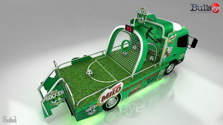 Milo Soccer League on Behance