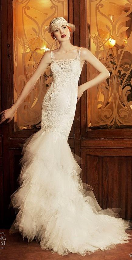 25+ best 1920s style wedding dresses ideas on Pinterest | 1920s ...