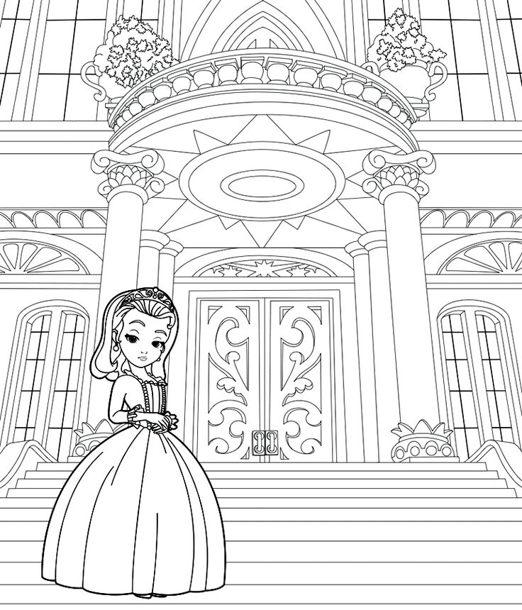 Desenhos da Princesinha Sofia