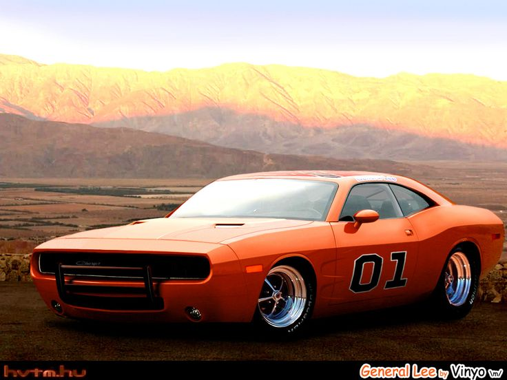 Dodge Charger General Lee Concept based on new Dodge Challenger. Awesome American Muscle Car!!!