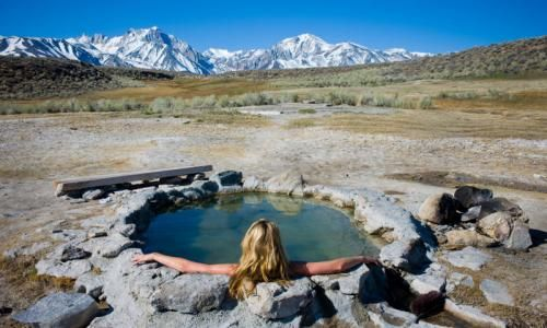 Mammoth Lakes Hot Springs, California - I have been there and its amazing