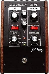Moog Music MF103 Moogerfooger Twelve Stage Phaser Pedal by Moog Music. $299.00. What is a Phaser?A phaser is a type of comb filter, so called because its frequency response has several dips and peaks, like the teeth of a comb. As the phaser response sweeps back and forth across the frequency spectrum, the harmonics of the audio input signal are alternately increased and decreased. This produces the classic phaser ?whooshing? sound.What is a 12-Stage Phaser?The MF-103 produces two...