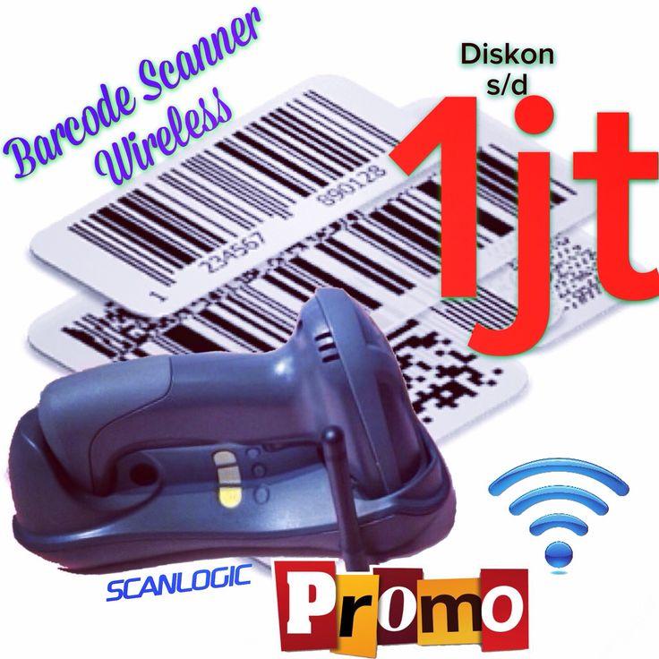Barcode Scanner Wireless Scanlogic Respon baca cepat untuk barcode 1d/2d, range jangkauan sampai dengan  200 Meter untuk mendukung bergabagai aplikasi transaksi retail, grosir, manufaktur / assembling industrial, Chemical Industry, Warehouse.