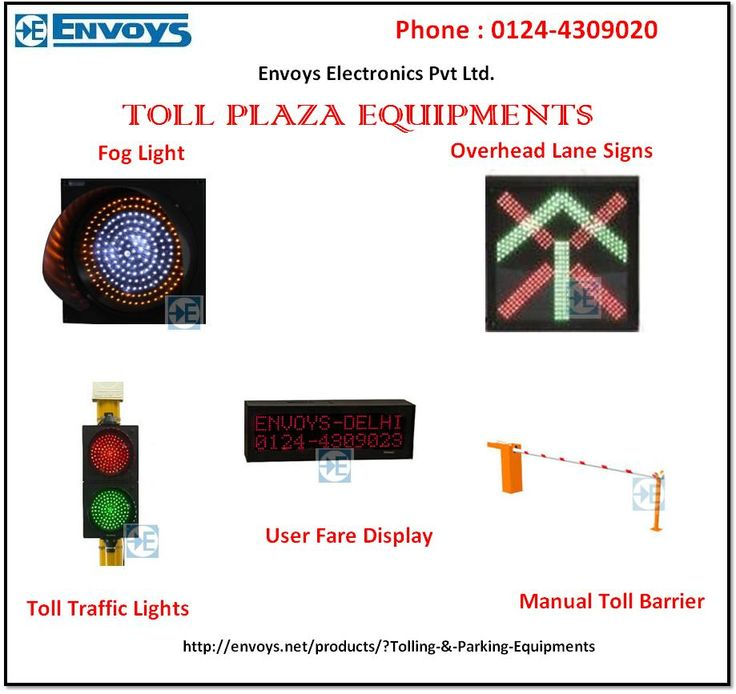 Envoys Electronics is providing the authorized and tested toll plaza equipment. All products are examined by very hard testing. Fore more information about our toll plaza equipments, please call us at 0124-4309020.