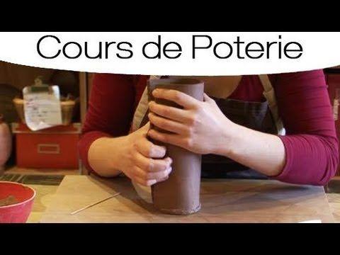 Technique de fabrication d'un vase à la plaque - YouTube