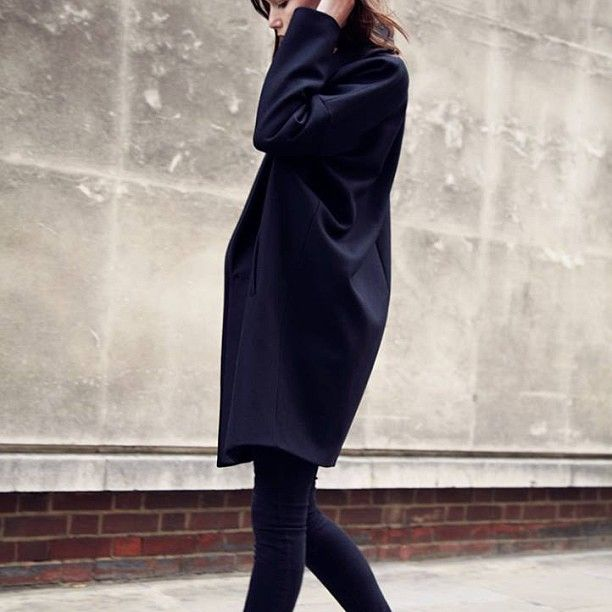 WORN IN LONDON. The Klein Coat on Location. Set against a London backdrop, our Autumn style hits the street. #allsaints #womenswear #london