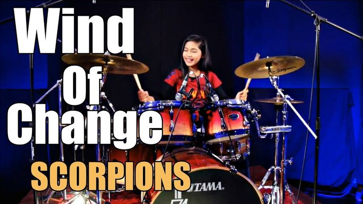 Scorpions - Wind Of Change Drum Cover by Nur Amira Syahira