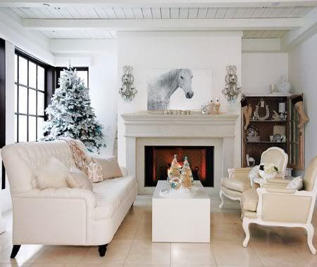 Equestrian winter home decor