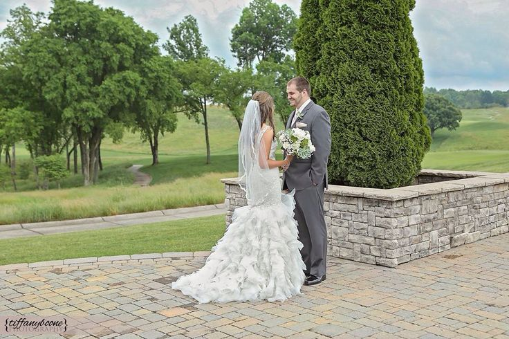 first look wedding photography kentucky bowling green ky olde stone