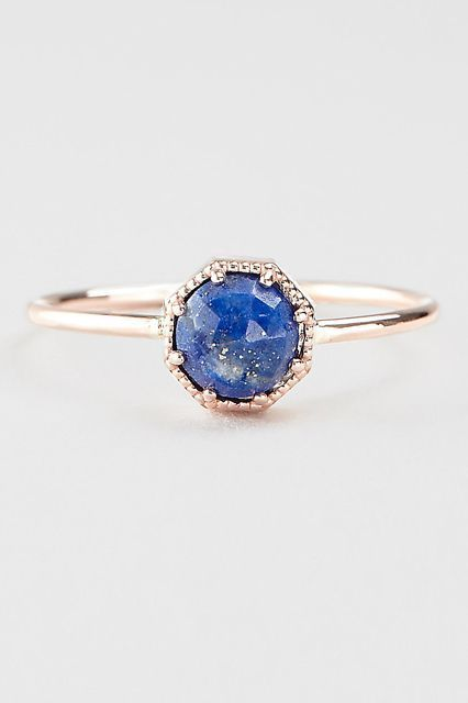 30 Dream Engagement Rings For The Anti-Diamond Girl #refinery29  http://www.refinery29.com/engagement-rings-diamond-alternatives#slide-30