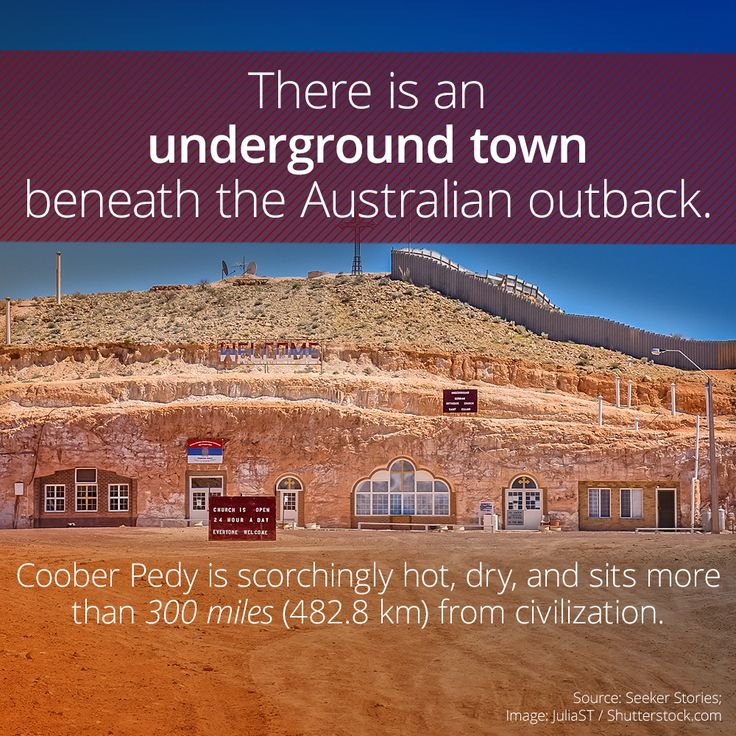 The Underground Opal Town Of Coober Pedy