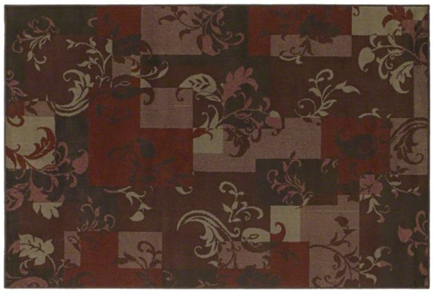 AreaRug Idyll - 3V732 - Red - Flooring by Shaw