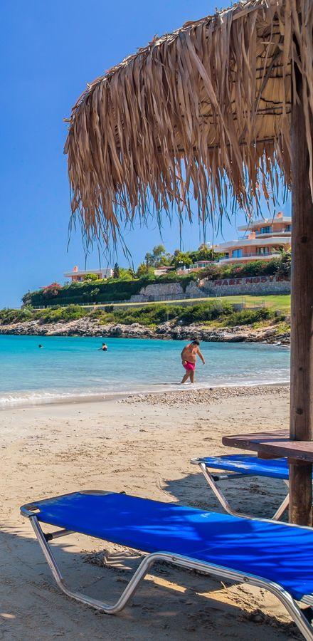 Loutraki beach in Chania