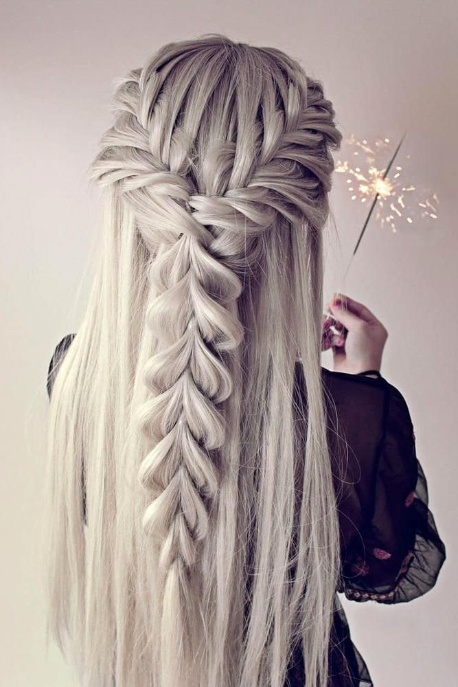 Valentine S Day Hairstyles In 2020 Long White Hair Long Hair Styles Valentine S Day Hairstyles
