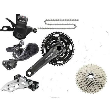 Shimano Deore M610 Triple Transmission Groupset