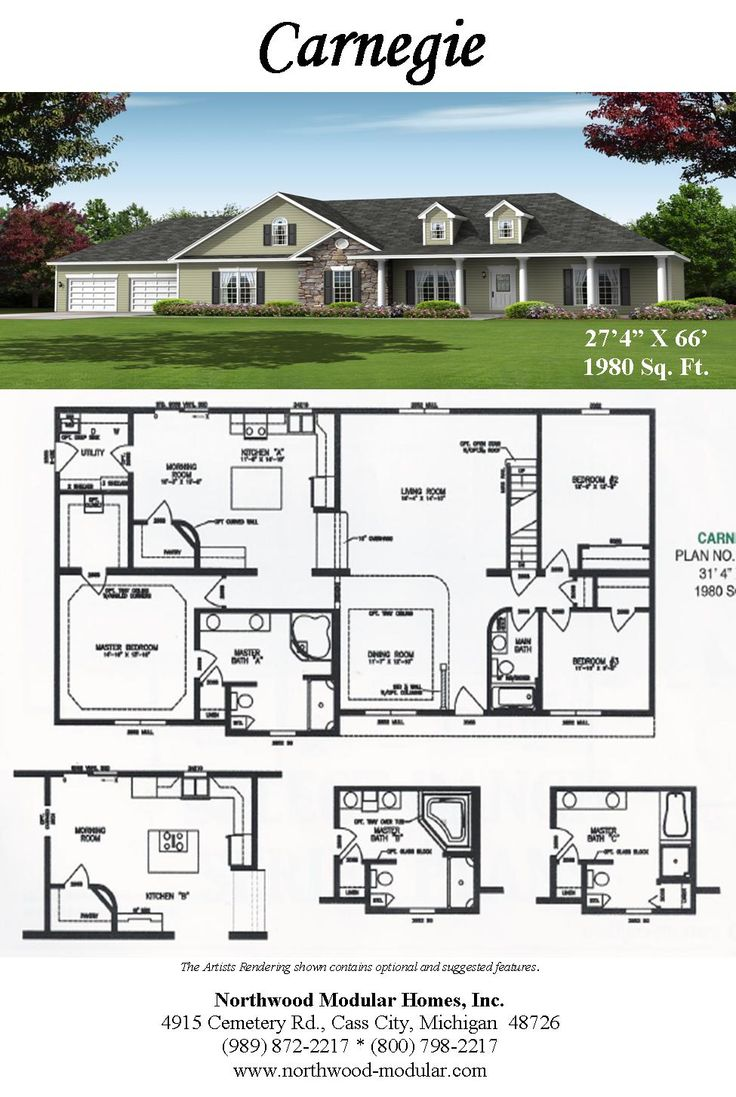 8 best cape cod plans images on pinterest floor plans for Modified cape cod house plans