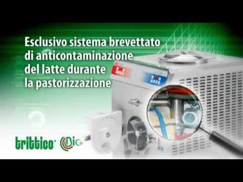 Gelato artigianale da latte crudo con Bravo Trittico Bio.wmv