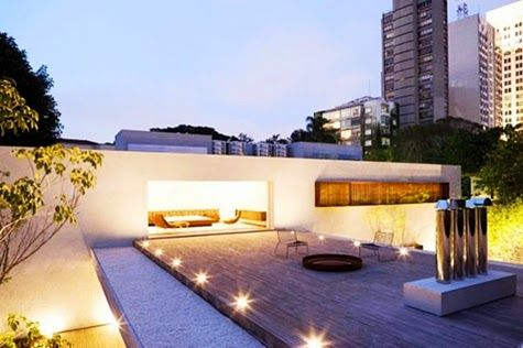 Modern Roof Terrace Design Ideas