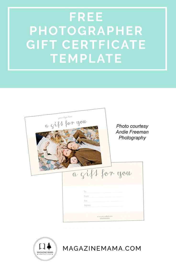 Gift Certificate Dots Photography Free Resources Pinterest
