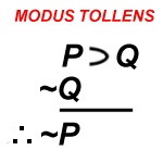 ...is another man's modus tollens.