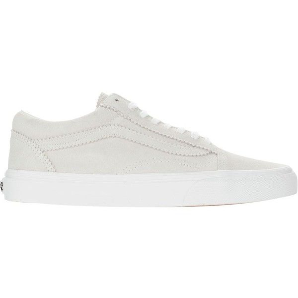 Vans Old Skool Shoe Women's ($33) ❤ liked on Polyvore featuring shoes, vans shoes, wide shoes, vans footwear, wide fit shoes and wide width shoes
