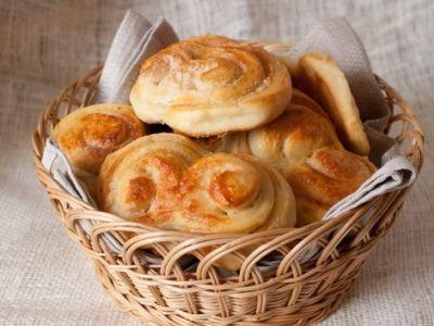 Рецепт Тесто для плюшек в хлебопечке