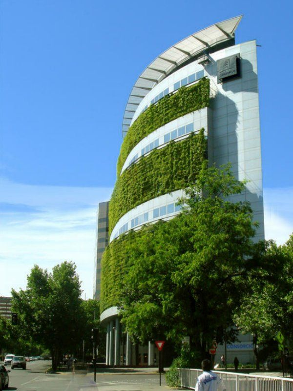 The National Insurance building in Las Condes, Santiago, Chile by Architects Henry Browne and Borja Huidobro