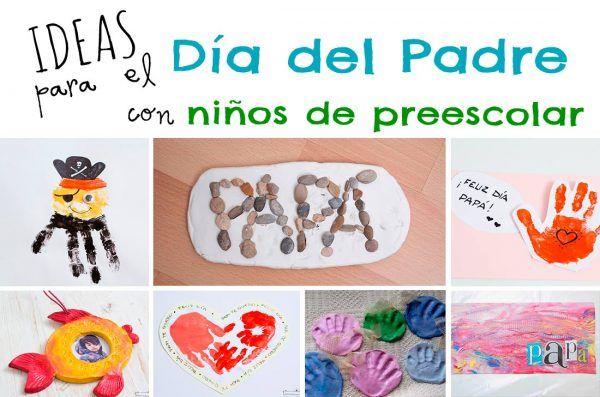 Ideas fáciles para el Día del Padre con niños de preescolar