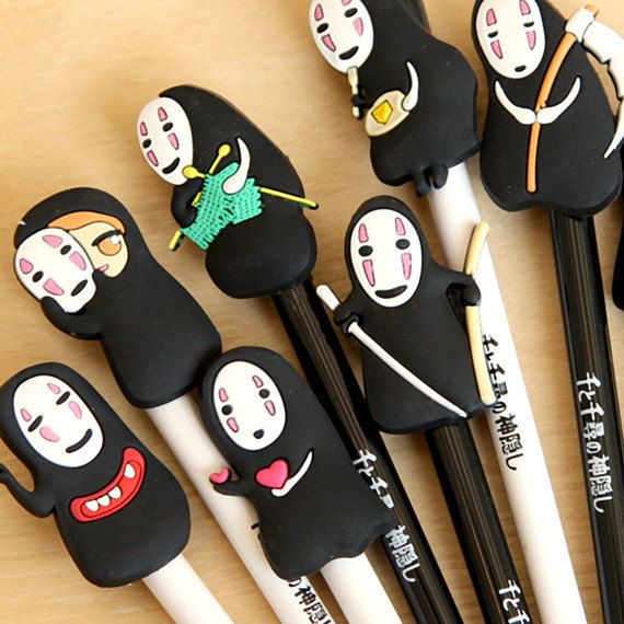 No Face Spirited Away pens