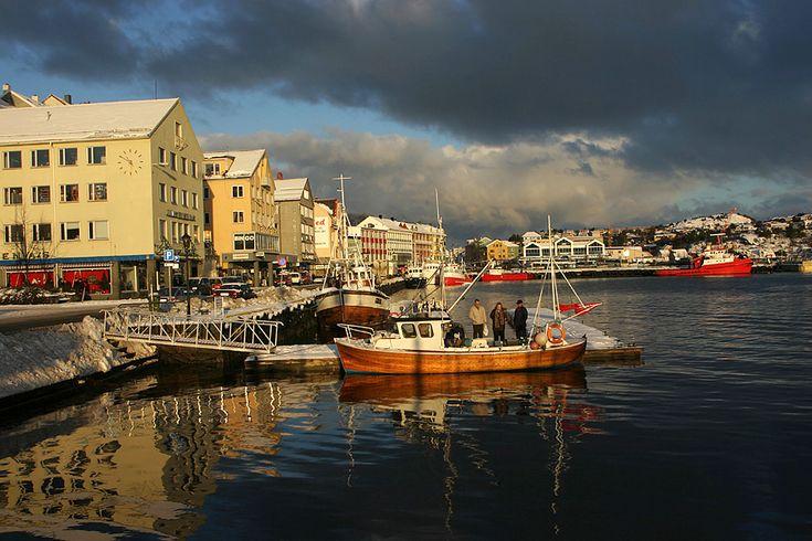 At the harbour, Kristiansund - Norway.