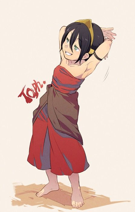 toph bei fong in fire nation clothes la elements pinterest