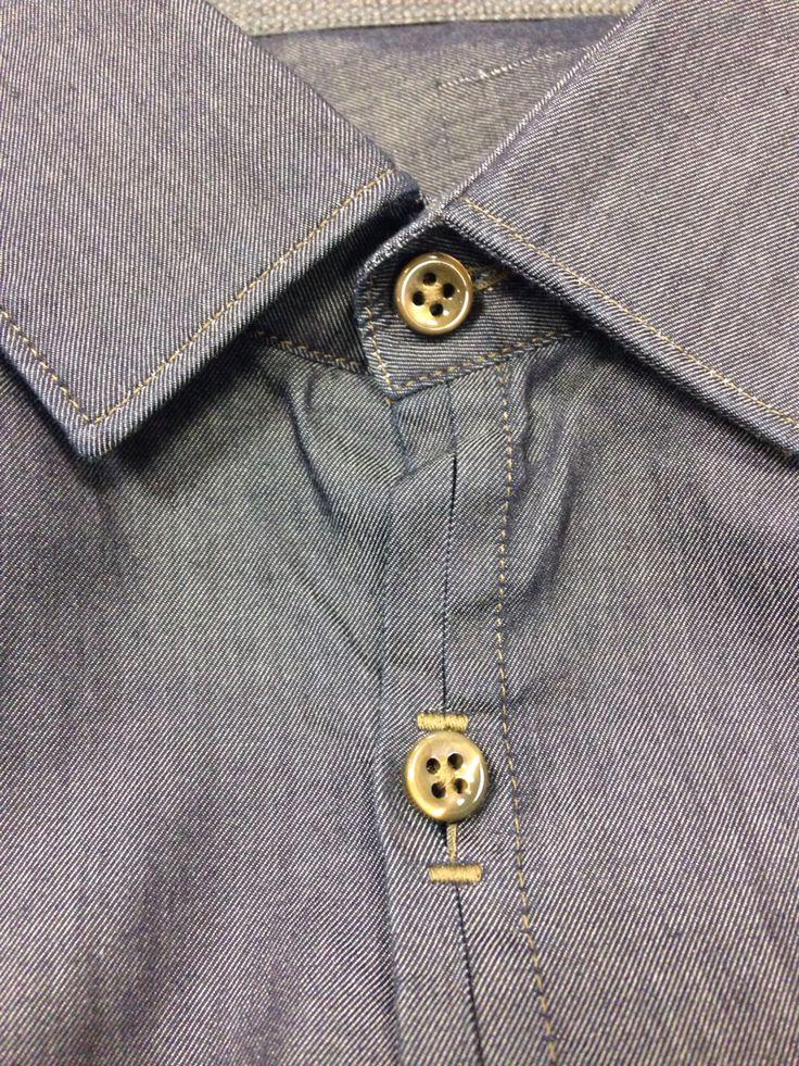 Zegna shirt detail