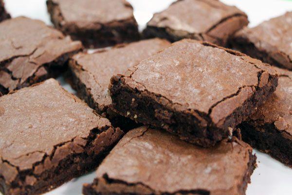 Decadent brownies