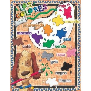 Los Colores Spanish Classroom Say-It Poster