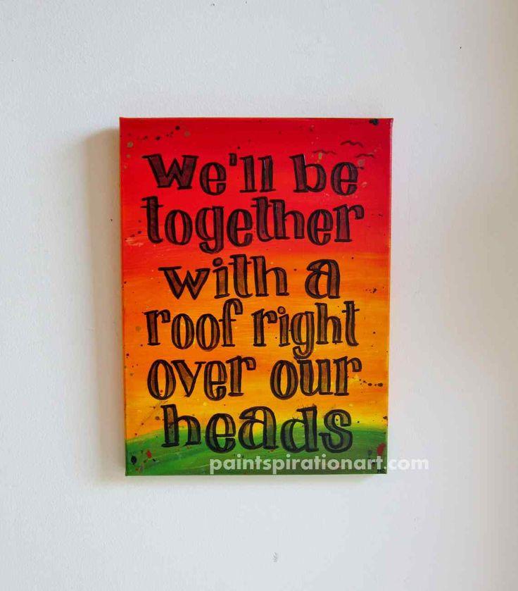 Music Art Bob Marley Art Song Lyrics Wall Art by Paintspiration