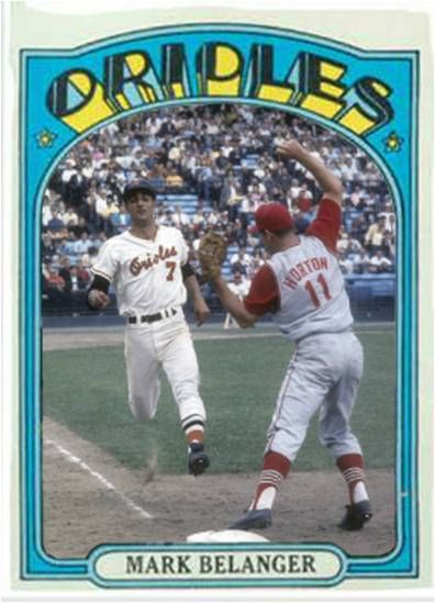 Mark Belanger Baltimore Orioles