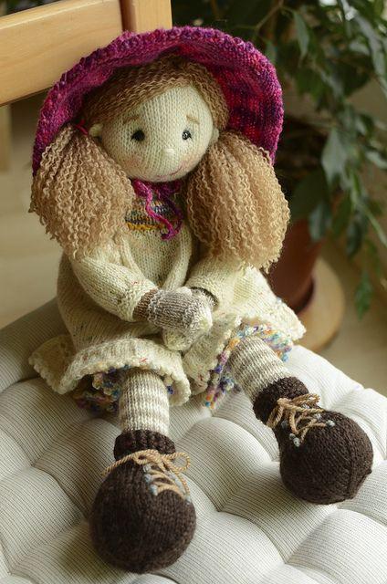 Knitting Patterns Toys Uk : The best knitted dolls ideas on pinterest