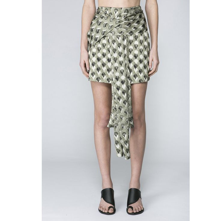 Acler - Ambrose Skirt/Arch Overlay