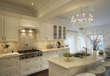 White Countertops, white cabinets (kitchen)