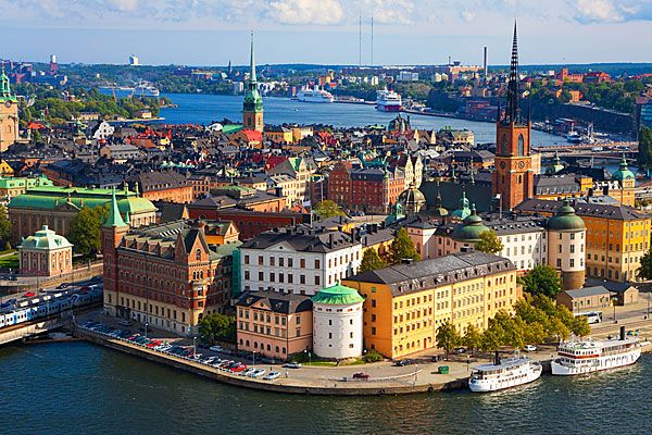 Stockholm...the city of my people!