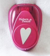 Free shipping * Folk Heart Paper Punch for scrapbook and cards