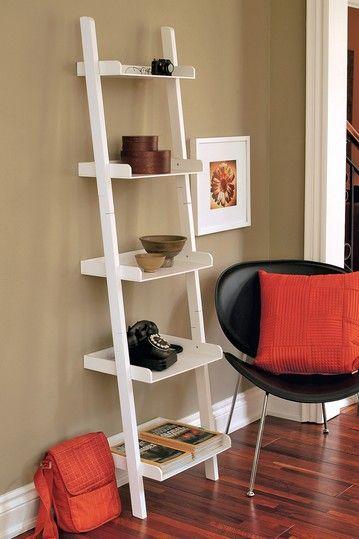 Hadfield Leaning Shelf - White on HauteLook