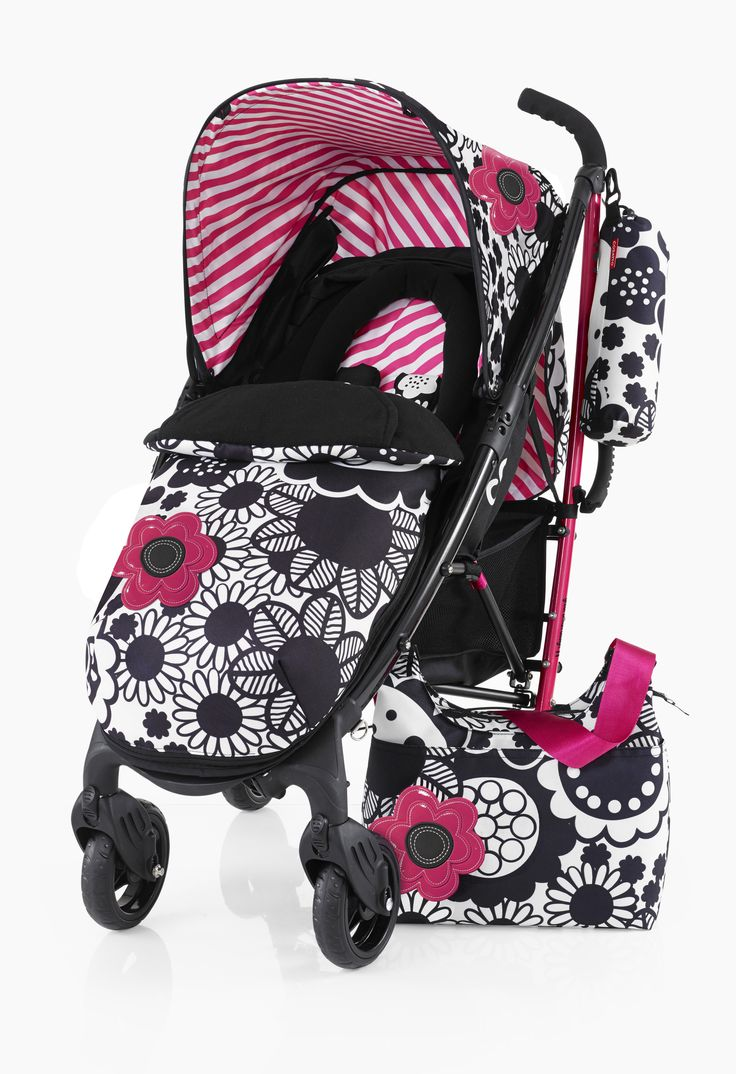 Cosatto Yo! Monobloom Pushchair Exclusive to www.very.co.uk with Changing Bag -Suitable from Birth -Super Lighweight Aluminium Chassis with Carry Handle -Compact Umbrella Fold with Auto Lock -Multiple Recline Positions -Lockable Front Swivel Wheels -Spacious Storage Basket -Free Cosy Toes with Kangaroo Pouch & Reversible Zip-Off Liner -Free Chest Pads and Head Hugger -Free Raincover and Carry Bag -Free 4 year Guarantee
