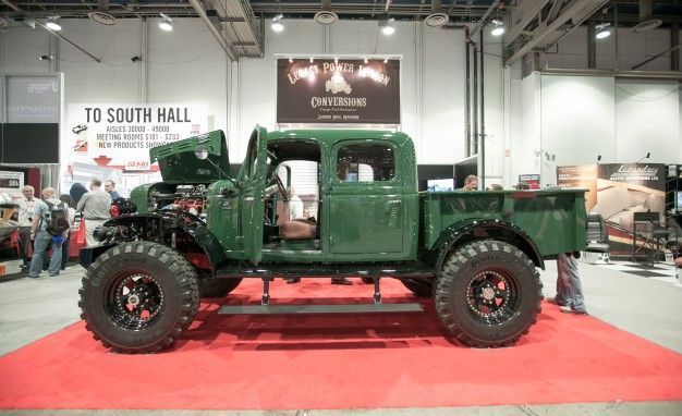 Legacy Dodge Power Wagon Conversion