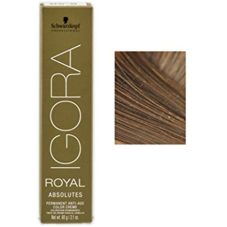 Schwarzkopf Professional Igora Royal Absolutes Hair Color - 7-60 Medium Blonde Chocolate Natural ** Visit the image link more details. (This is an affiliate link and I receive a commission for the sales)