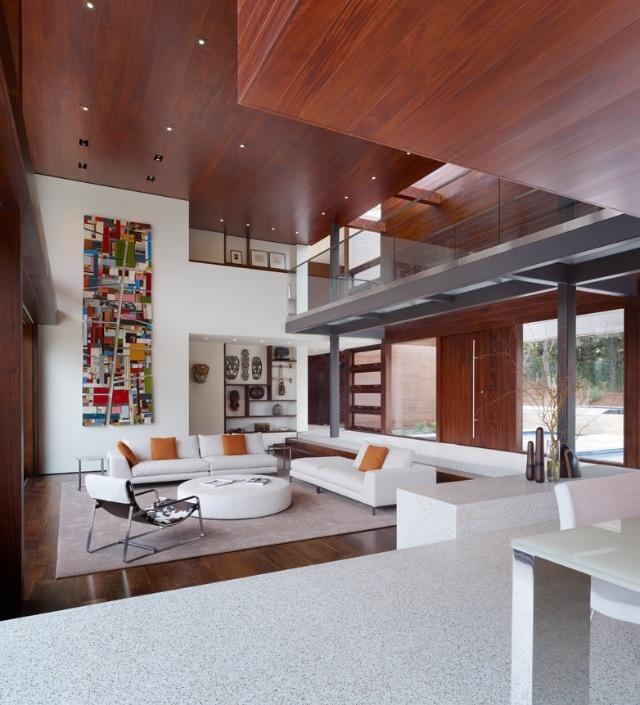 Modern Living Room San Francisco Best Interior Design 12: 38 Best Step Down Living Rooms Images On Pinterest