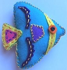 Blue flatfish
