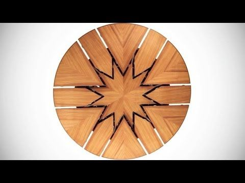 The Greatest Expandable Table By Fletcher Burwell Itu0027s Called The Fletcher  Capstan Table