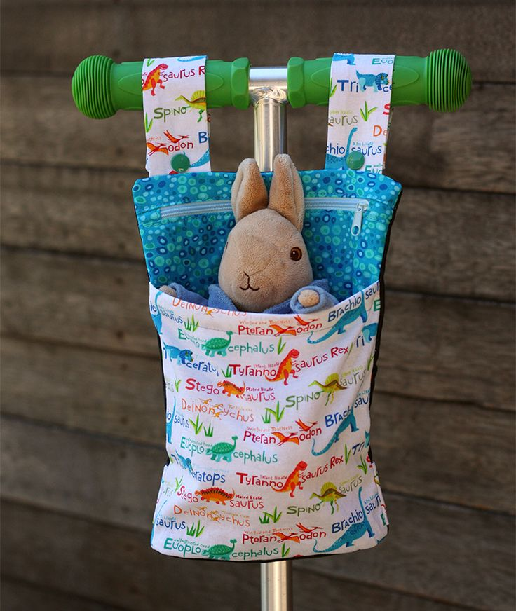 Scooter Buddy sewn by Things for Boys